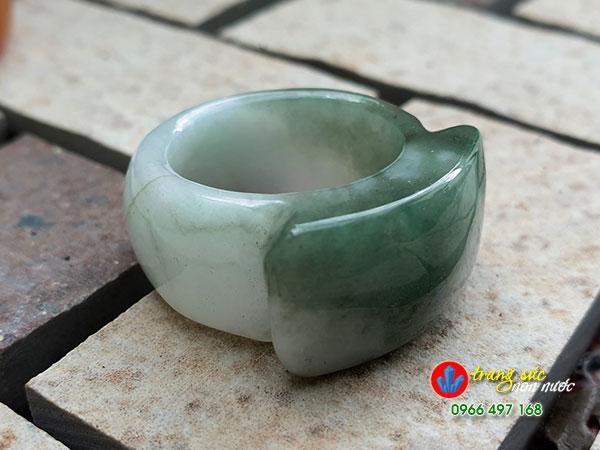 Nhẫn đá cẩm thạch nam